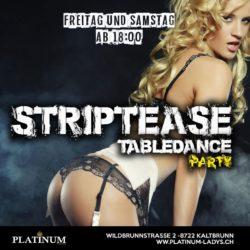 STRIP UND TABELDANCE PARTY KALTBRUNN PLATINUM LADYS .CH 2